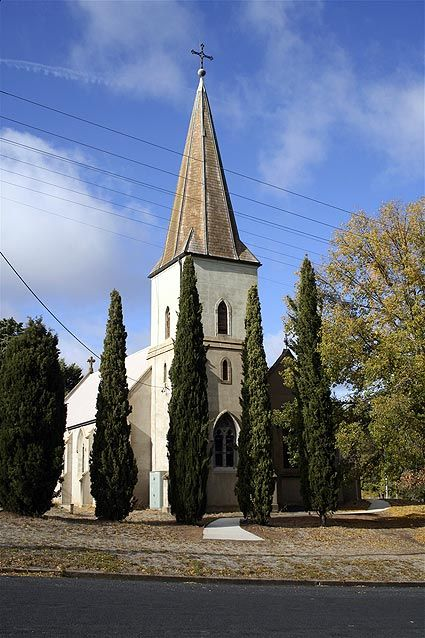Yass NSW - St Clement's Anglican Church - 1876