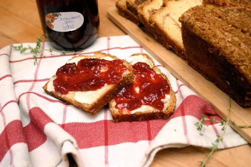 strawberry-thyme and balsamic jam | FOOD-CANNING | Pinterest