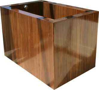 A traditional Japanese relaxation method was to use an ofuro as a way to release negative energy. An ofuro is a deep soaking tub made of wooden construction. These tubs will commonly be at least 25 inches deep compared to a standard bathtub today which is more along the lines of 10-14 inches. The pictures here feature ofuros made of walnut and teak using handmade construction techniques.