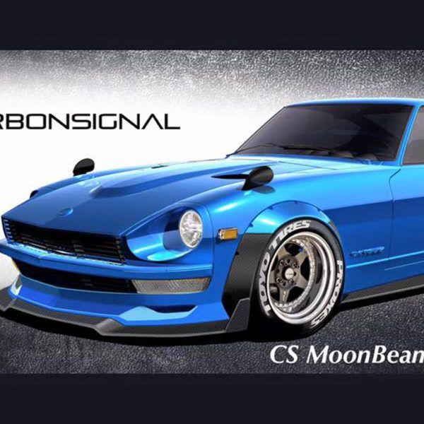S30 Non G Nose Kit Fender Flares Datsun Moonbeam