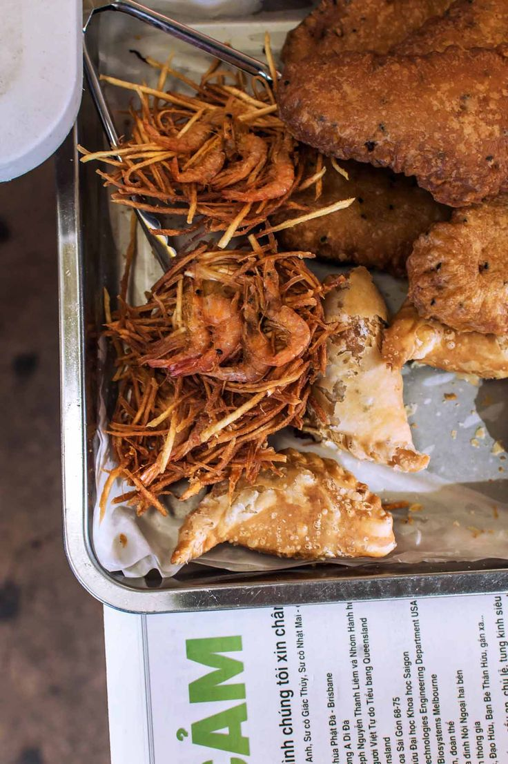 Fried goodies at the Inala Civic Centre | heneedsfood.com