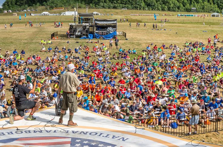 (JTA) — A Guinness World Record for the most dreidels spinning at one time was set at the Boy Scouts of America's 2017 National Jamboree. Some 820 dreidels spun simultaneously for 10 seconds Sunday at the Summit Bechtel Family Scout Reserve in Glen Jean, West Virginia, breaking the mark of 754 set in Tel Aviv...