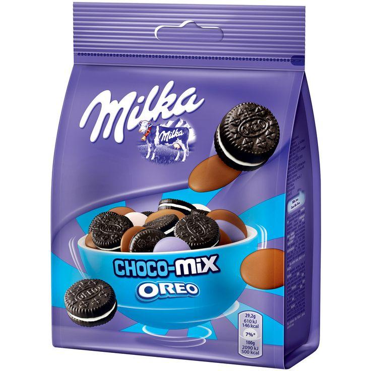 Milka Snax - Choco Mix - Oreo #chocolate #milka #snack #oreo
