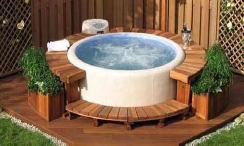 Best 25 portable spa ideas on pinterest portable hot - Swimming pool basketball hoop costco ...