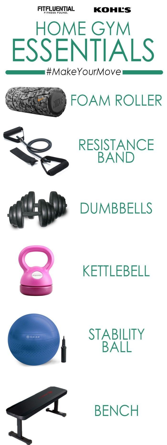 #MakeYourMove with home workout essentials sponsored by Kohls