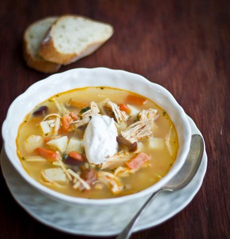 Chicken Soup- your guide to the best comfort soup out there! By LetttheBakingBeginBlog.com