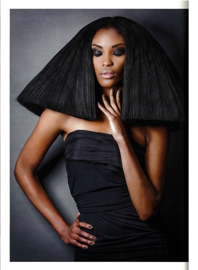 pictures of black short haircuts 36 best balmain hair in the media images on 4647 | 0552f5010be4647b0d7557cdf407efb3 straight hairstyles black hairstyles