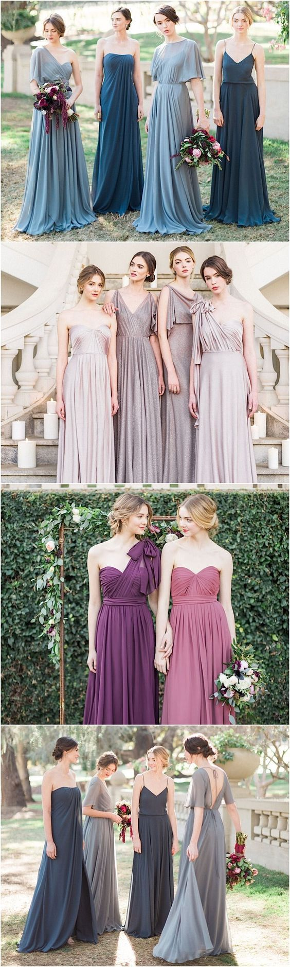Gorgeous bridesmaid dresses by Jenny Yoo: