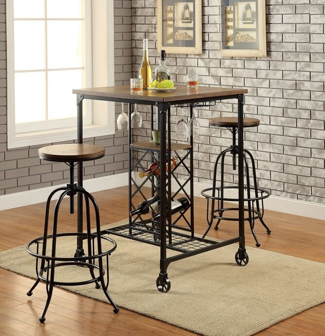 56 Best Bar Tables Images On Pinterest Adjustable Stool