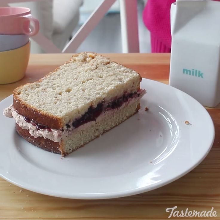 Turn your favorite lunch into a delicious cake! No one has to know you're having dessert for lunch ;)