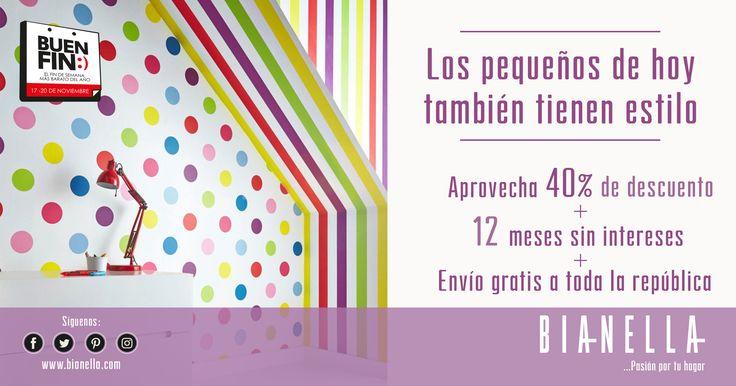Tapíz Dotty Multi Rollo de Tapiz vinílico con base de papel. Medidas: 10.05x0.52 cm Tiempo de Entrega: 10-15 días hábiles. $1,450 - 40% de descuento #Buenfin #tiendaonline #muebles #tapices #ninos #recamarasinfantiles #sillones #kids #fashion #style #pequenos #infantil