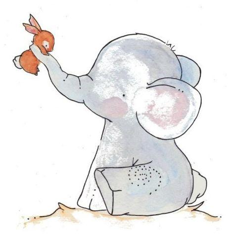 Elijah Enjoys Elephants - Happy lil elephant :)