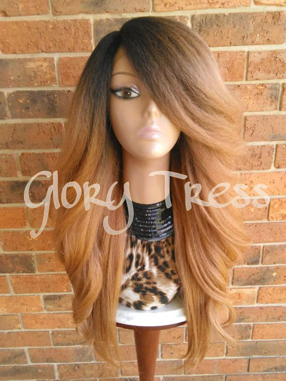 READY To SHIP // Voluminous Kinky Curly Lace Front by GloryTress