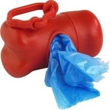 $1.800.- Dispensador porta bolsa para excremento de mascota, variados colores. Viene con recargas de bolsas (cada recarga trae 15 bolsas).