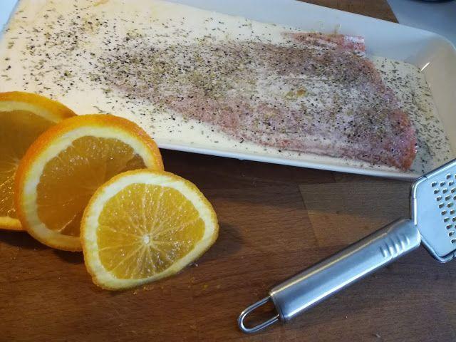 Tupun tupa: Appelsiini lohta ja puikulaperunamuusia