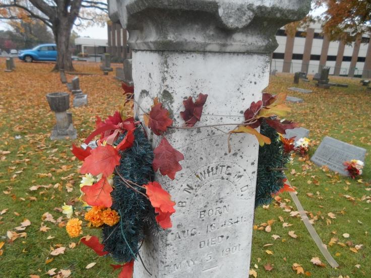 Autumn 2012 - White family plot