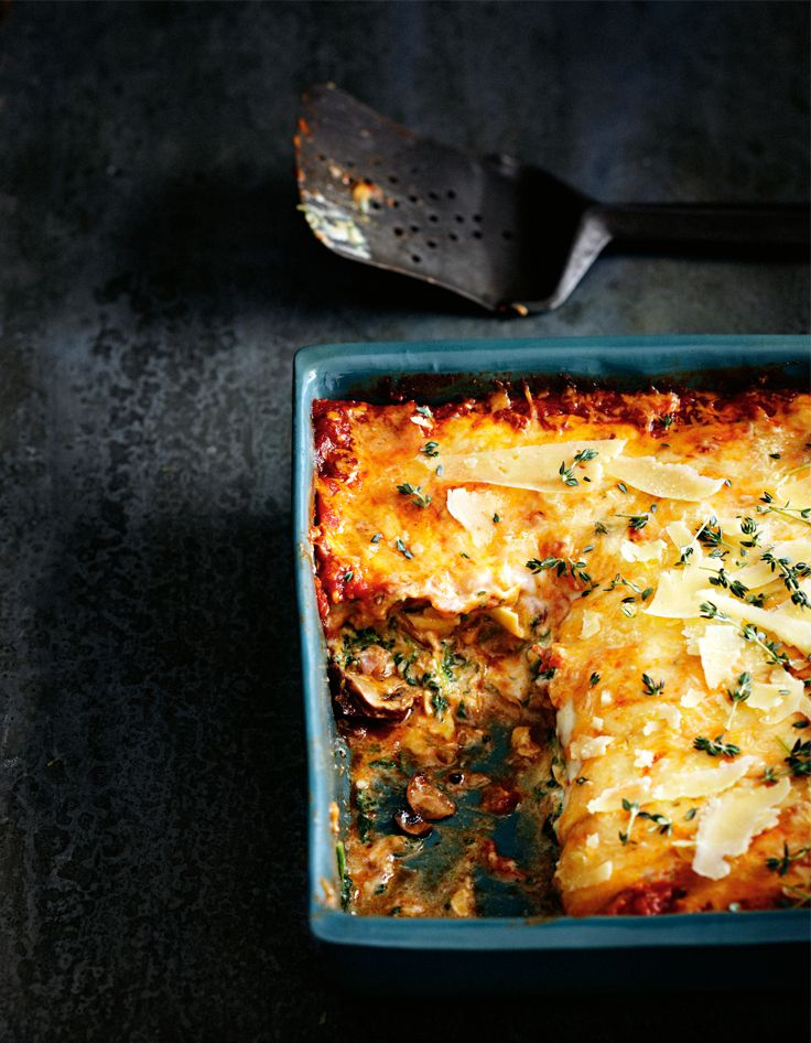 Try a different take on the classic lasagne recipe. http://www.woolworths.com.au/wps/wcm/connect/Website/Woolworths/FreshFoodIdeas/Recipes/Recipes-Content/mushroomlasagne #Woolworths #Recipes #Mushrooms #Lasagne #Delicious #Cheesy #Different #Flavour