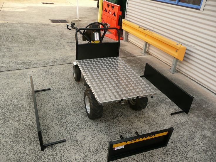 Battery Electric Wheelbarrow - Assembling process