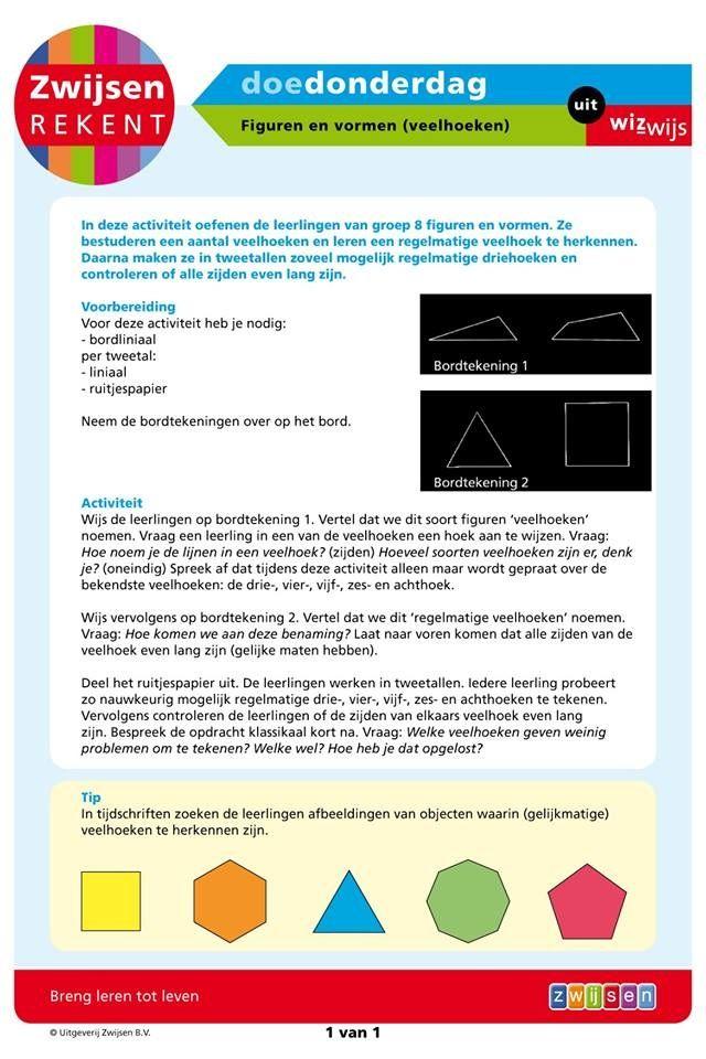 Figuren en vormen - veelhoeken (groep 8)