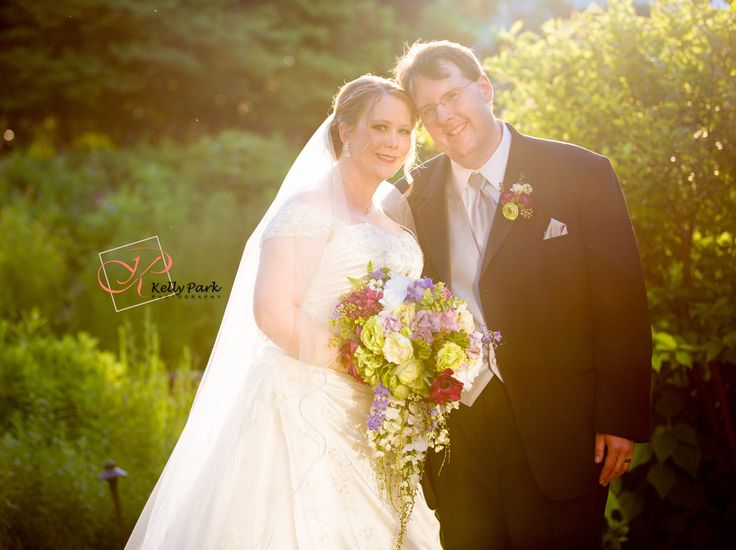 garden wedding at the butterfly house in chesterfield mo a suburb of st