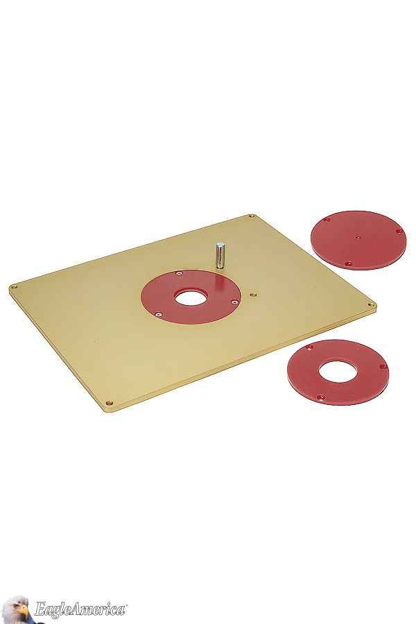 This 9 132 x 12 332 14 thick aluminum router table insert this 9 132 x 12 332 14 thick aluminum router table insert will support the heaviest of routers without plate sag and includes leveling screws and greentooth Image collections