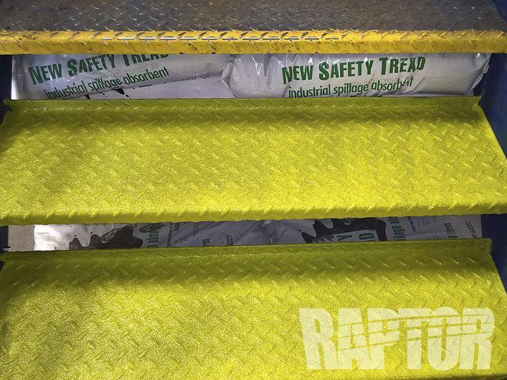 BUS STEPS: Full Overspray #raptorised