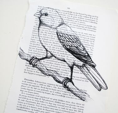 How to Print on Book Paper