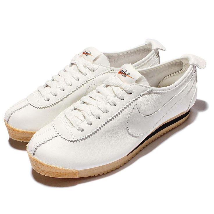 Wmns Nike Cortez 72 White Gum Womens Classic Vintage Trainers Sneaker 847126-100 #Nike #RunningCrossTraining
