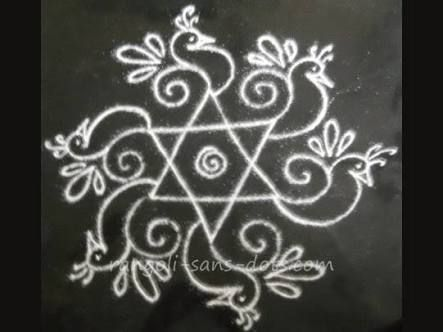 Image result for freehand rangoli