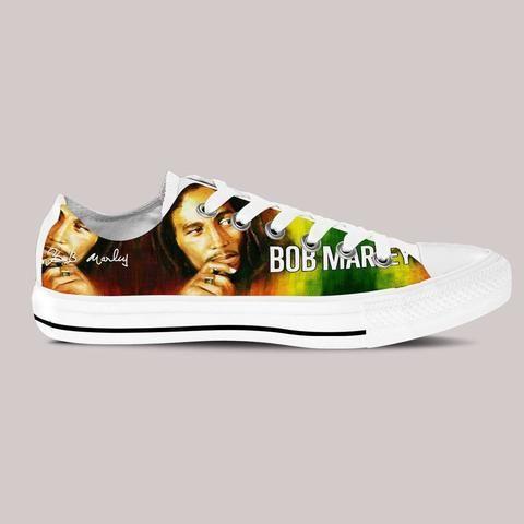 bob marley mens low cut sneakers cut