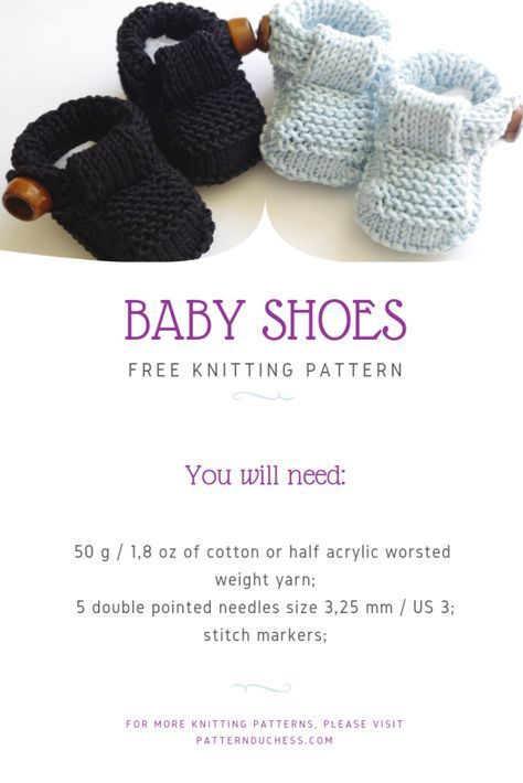 Tutorial For Easy Knit Baby Shoes With Buttons Free Pattern