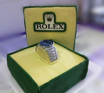 Torta Rolex
