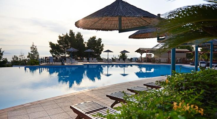How Alia Palace Luxury Hotel and Villas Makes You a Better Traveler #terrace #pool #greece