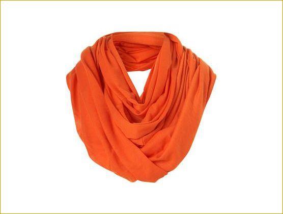 Forever Orange Scarf :) #InfiniteScarf