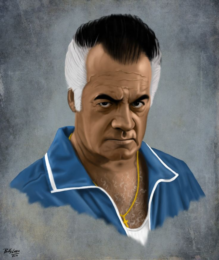 "The Sopranos - Paul ""Paulie Walnuts"" Gualtieri #GangsterFlick"