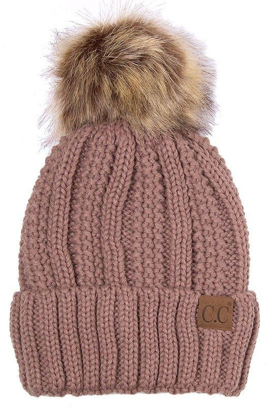 CC Lined Knit Beanie