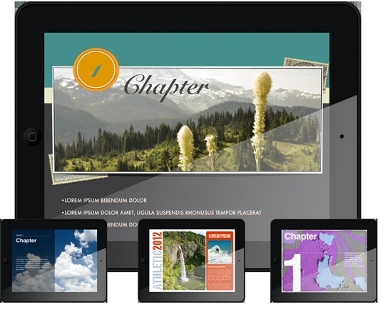 Incredible templates for iBooks Author!
