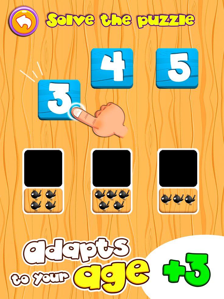 """Hay apps para móviles con las que los niños y niñas pueden trabajar los números cardinales, entre otras cosas, como por ejemplo a través de la app """"Dino Tim"""". Muy divertida y útil."""