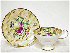 Heirloom Old Royal Tea Cup & Saucer