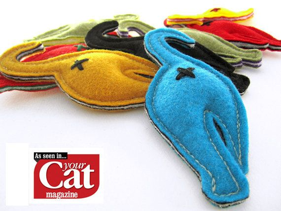Nip-in-the-Butt Cat Butt Handmade Catnip Toy