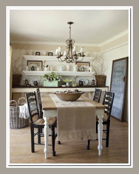 Romantic Homes Decorating: Romantic Prairie Style Images On