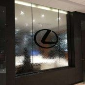 Lexus Dealership Mirror Water Wall