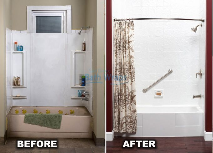 change the entire look of your bathroom with a new bathtub liner from san diego bath