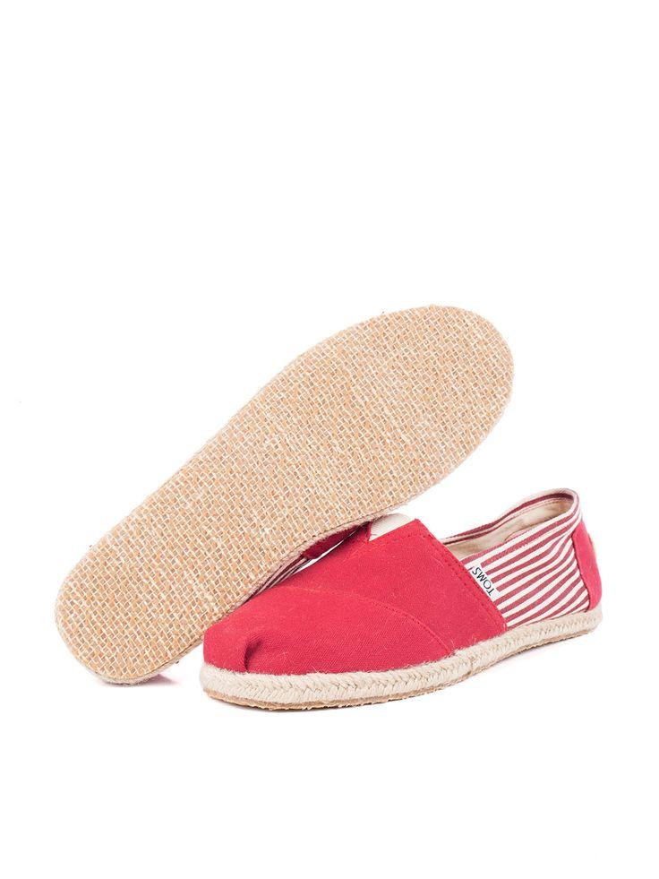 Visítanos en www.clickonero.com.mx ... Camina con estilo... #fashion #moda #zapatos #tenis #calzado #alpargata #toms #rojo