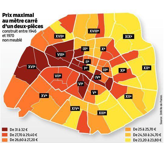 INTERACTIF. Paris prêt à encadrer les loyers au 1er août