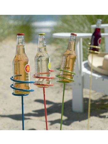 Summer Beverage Stakes, Set of 4, By Tag... I need these for