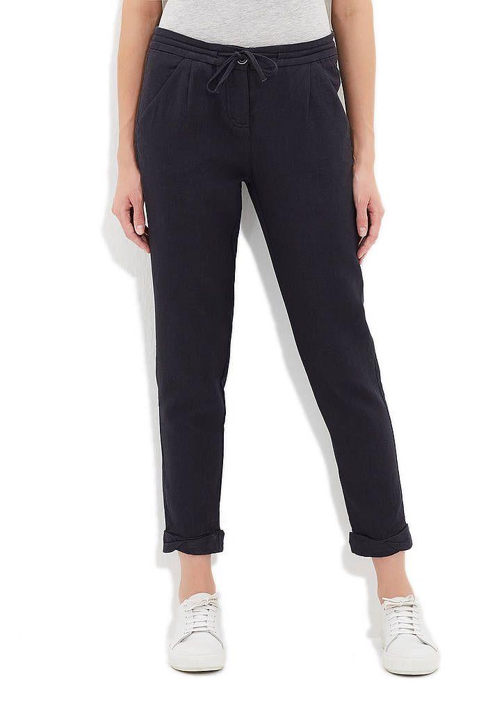 Bağcıklı Siyah Pantolon