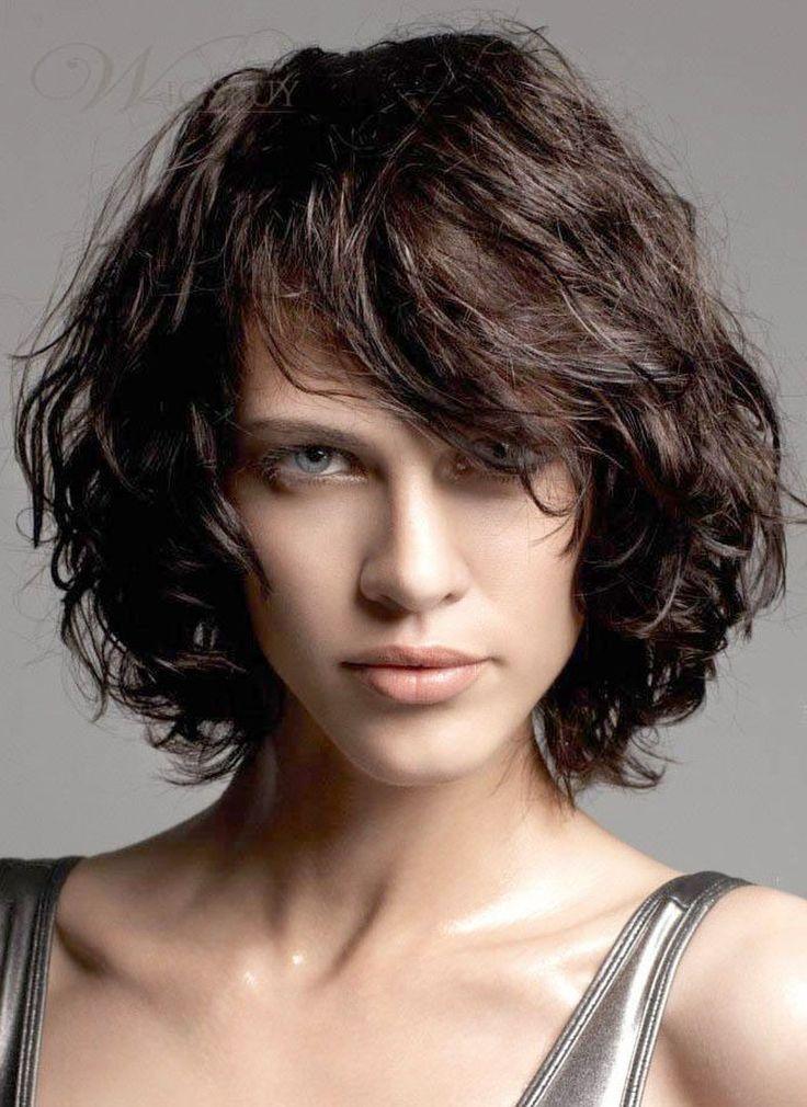 New Messy Short Curly Bob Hairstyle 100 Human Hair Cheap