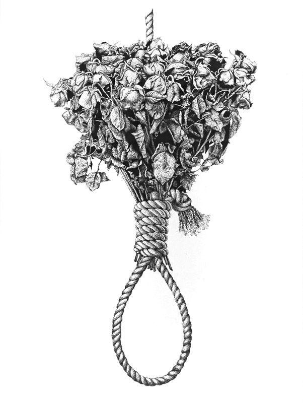 53 dead roses