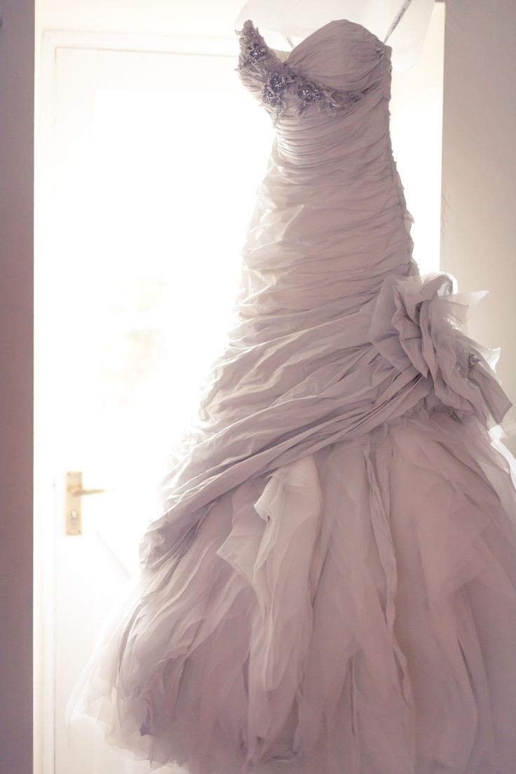 Beautiful Ian Stuart designed wedding dress. Worn by Joanne, Head Designer of Makki, for her wedding last year